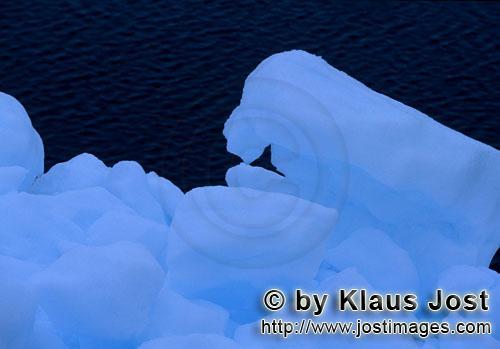 Cape Anne/Nunavut/Kanada        Arktisches Packeis am Cape Anne        Am Ufer von Cape Anne