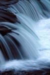 Lachs Hindernis Brooks River Wasserfall