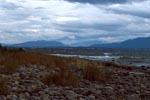 Weiße Schaumkronen am Naknek Lake