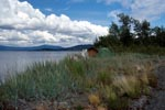 Zelten am Lake Coville