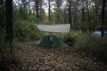 Zelten am Brooks Campground