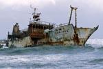 Meisho Maru 38 gestrandet am Cape Agulhas