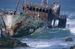 Meisho Maru 38 - aufgelaufen am Cape Agulhas