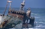 Meisho Maru 38 auf Grund gelaufen an der Südspitze Afrikas