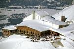 Sonnenbad an der Karwendelbahn Bergstation
