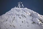 Westliche Karwendelspitze im Winter