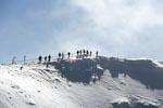 Unterwegs am Panoramaweg der Karwendelbahn Bergstation