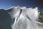Tiefverschneite Westliche Karwendelspitze