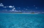 Midway Lagune mit Insel