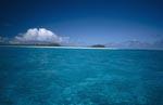 Lagune im Pazifik