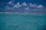 Lagunengrenze zum offenen Pazifik