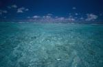 Lagune vor dem Übergang zum offenen Pazifik