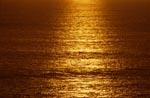 Sonnenuntergang ueber dem Meer
