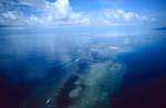 Shark Reef, Beqa Lagoon aus der Luft