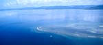 Luftaufnahme Shark Reef im Südpazifik