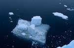 Eisscholle im Meer vor Cape Anne