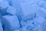 Pạck·eis besteht aus ineinandergeschobenen Eisschollen