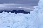 Packeis in der Arktis