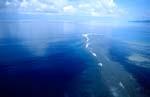 Luftfoto Shark Reef auf Fiji